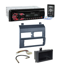 Load image into Gallery viewer, Pioneer Car Radio Stereo w/ Blue Dash Kit Harness for 1988-94 Chevy GMC Trucks