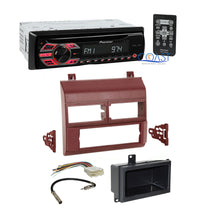 Load image into Gallery viewer, Pioneer Car Radio Stereo w/ Burgandy Dash Kit for 1988-94 Chevy GMC Trucks