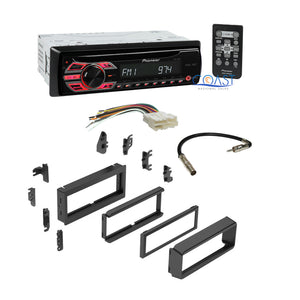 Pioneer Car Radio Stereo w/ Complete Dash Kit Harness for GM GMC Saturn Chevy