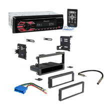 Load image into Gallery viewer, Single DIN Car Radio Stereo Dash Kit Harness for 1999-UP GM Buick Oldsmobile