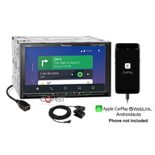 "Load image into Gallery viewer, Pioneer 7"" BT Carplay Android Stereo Dash Kit Bose Amp Harness for GM Chevrolet"