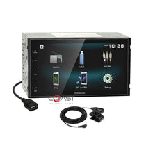 Load image into Gallery viewer, Kenwood USB Bluetooth Android Mirror Stereo Dash Kit Harness for 09-14 Acura TL