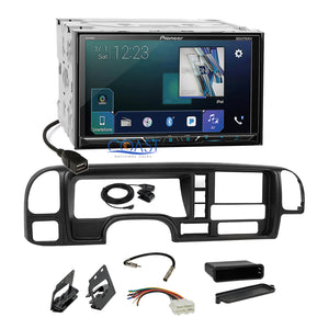 Pioneer DVD Sirius GPS Ready Stereo Dash Kit Harness for 1995-02 GM Truck SUV
