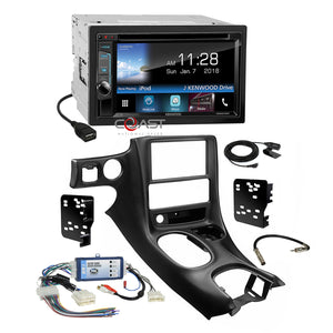 Kenwood Sirius Waze Stereo Dash Kit Bose Harness for 97-04 Chevrolet Corvette