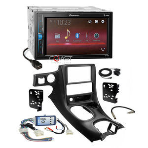 Pioneer USB MP3 Bluetooth Stereo Dash Kit Amp Harness for 97+ Chevy Corvette