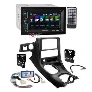 Soundstream 2018 DVD USB Stereo Dash Kit Bose Harness for 97-04 Chevy Corvette