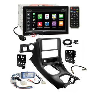 Soundstream 2018 Carplay Stereo Dash Kit Bose Harness for 97-04 Chevy Corvette