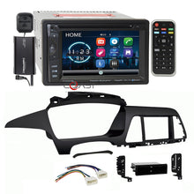 Load image into Gallery viewer, Power Acoustik DVD BT Sirius Stereo Dash Kit Harness for 2015-up Hyundai Sonata