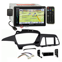 Load image into Gallery viewer, Soundstream DVD GPS BT Sirius Stereo Dash Kit Harness for 15-up Hyundai Sonata