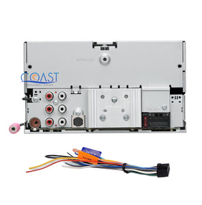 Kenwood CD Bluetooth Stereo Dash Kit OnStar Harness for 03-07 Cadillac CTS SRX