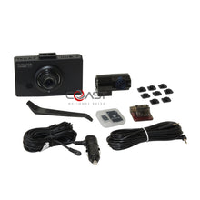 "Load image into Gallery viewer, BlackVue 2 Chan. 3.5"" LCD Dashcam Dual Full HD 1080P 30fps Camera DR490L-2CH"