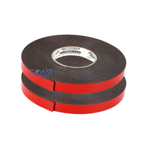 "2X High Strength Double Sided Foam Adhesive Tape 60 Ft of 3/4"" Width DSFT-34"