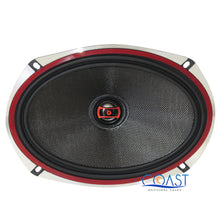 "Load image into Gallery viewer, 2X DS18 EXL-SQ6.9 Car Audio 560W EXL Series 6""x9"" 2-Way Coaxial Speakers"
