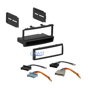 Single DIN Car Stereo Dash Kit Harness for 1999-2004 Mercury Cougar Ford Focus