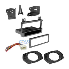 Load image into Gallery viewer, Single Din Dash Kit Harness & Speaker Adapters 1995-2010 Ford Lincoln Mercury