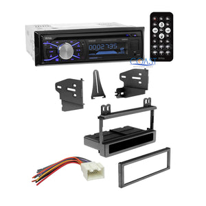 Boss Single Din Car Stereo Dash Kit Harness for 1995-2010 Ford Lincoln Mercury