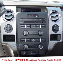 "Load image into Gallery viewer, Power Acoustik 6.5"" DVD USB BT Stereo Dash Kit Amp Harness for 09-12 Ford F-150"