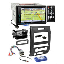 Load image into Gallery viewer, Soundstream DVD GPS Bluetooth Stereo Dash Kit Amp Harness for 09-12 Ford F-150