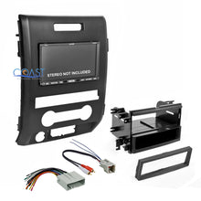 Load image into Gallery viewer, Car Radio Stereo Double Din Dash Kit Wire Harness for select 2009-12 Ford F-150