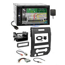 Load image into Gallery viewer, Pioneer DVD Sirius GPS Bluetooth Stereo Dash Kit Harness for 2009-12 Ford F-150