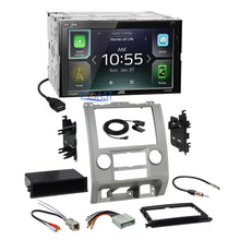Load image into Gallery viewer, JVC Carplay Android Auto Stereo Silver Dash Kit Harness for Ford Mercury Mazda