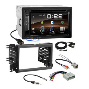 Kenwood DVD USB Sirius Stereo Dash Kit Amp Interface for Ford Lincoln Mercury