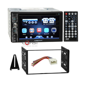 Concept DVD USB MP3 Bluetooth Stereo Dash Kit Harness for Ford Lincoln Mercury