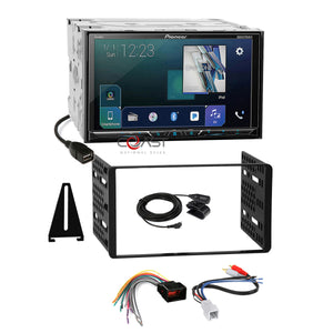 Pioneer DVD GPS Ready Stereo Dash Kit Amp Harness for 98+ Ford Lincoln Mercury