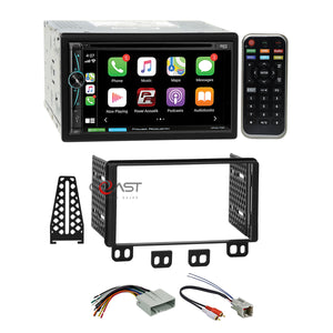Power Acoustik DVD BT Carplay Stereo Dash Kit Harness for Ford Lincoln Mercury