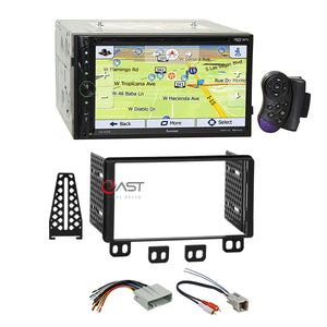 Farenheit DVD Bluetooth GPS Stereo Dash Kit Harness for Ford Lincoln Mercury