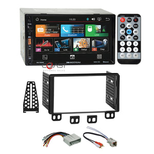 Soundstream USB Bluetooth Stereo Dash Kit Harness for 03-06 Ford Lincoln Mercu