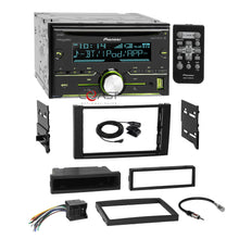 Load image into Gallery viewer, Pioneer CD USB Sirius Stereo Dash Kit Harness for 2010-11 Ford Transit Connect