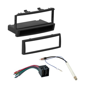 Single DIN Dash Kit harness Antenna for 1999-2004 Mercury Cougar Ford Focus