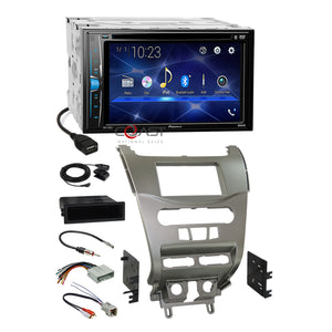 Pioneer 2018 DVD Bluetooth Stereo Silver Dash Kit Harness for 08-11 Ford Focus