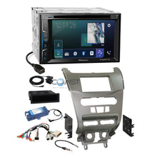 Load image into Gallery viewer, Pioneer 2018 DVD Sirius Stereo Silv Dash Kit Amp Harness for 08-11 Ford Focus
