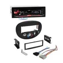 Load image into Gallery viewer, JVC Car Radio Stereo Install Dash Kit Bezel Harness for 1997-2004 Ford Mercury