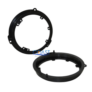 "Durable Car Audio Rear Door 6""- 6.75"" Speaker Adapters For 2015-Up Ford"