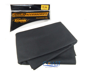 "Car Audio GC-3BK  66""x 36"" UV Treated Speaker Grill Cloth - Black"