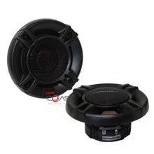 "Load image into Gallery viewer, 2X DS18 GEN-X4 Car Audio 4"" 2-Way 120W Coaxial Series Flush Mount Speakers"