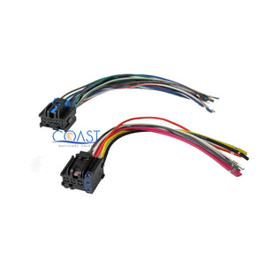 saturn stereo wiring harness car stereo wiring harness to factory radio for 2005 2010 chevy  car stereo wiring harness to factory