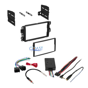 Car Stereo Dash Kit Harness Steering Wheel Control for Buick Chevy GMC Saturn
