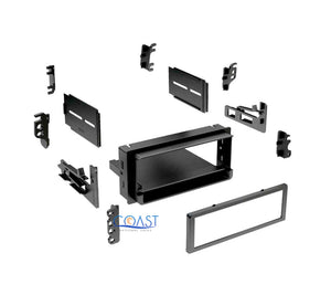 Car Radio Install Single Din Dash Kit for 1982-up GMC Chevrolet Pontiac Saturn