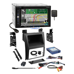 Pioneer DVD GPS Carplay Stereo Dash Kit Amp Harness for 2007+ Cadillac Escalade