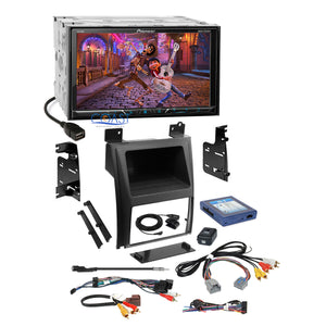 Pioneer 2018 DVD GPS Ready Stereo Dash Kit Amp Harness for 07+ Cadillac Escalade