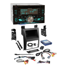 Load image into Gallery viewer, Kenwood Sirius Bluetooth Stereo Dash Kit Bose Harness for 07+ Cadillac Escalade