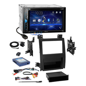 Pioneer 2018 DVD Stereo 2Din Dash Kit Bose Harness for 07-14 Cadillac Escalade
