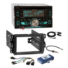 Load image into Gallery viewer, Kenwood CD Sirius Bluetooth Dash Kit Bose Harness for Buick Chevy GMC Pontiac