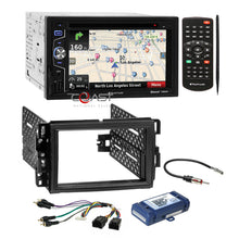 Load image into Gallery viewer, Planet Audio DVD GPS Bluetooth Dash Kit Amp Harness for Buick Chevy GMC Pontiac
