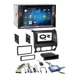 JVC DVD Bluetooth Stereo Dash Kit SWC Harness for Chevy Silverado GMC Sierra