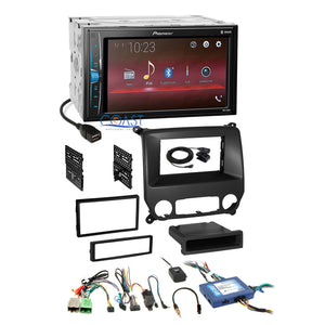 Pioneer 2018 USB Bluetooth Stereo Dash Kit Harness for 14+ Chevy Silverado GMC